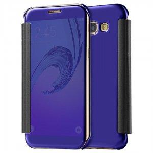 Flip Mirror Case Samsung A3 2017 Dark Blue min