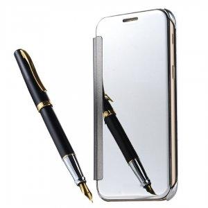 Flip Mirror Case Samsung A3 2017 Silver min