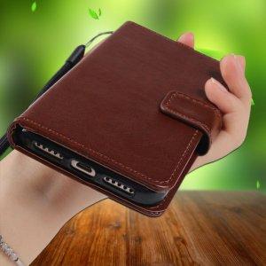 Flip Wallet Leather Cover Case compressor