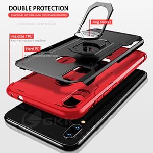 GKK Original Case for Xiaomi Redmi Note 6 7 pro Case Armor With Finger Ring Hard 2 min 1