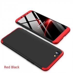 full Armor Matte Hard Case Oppo F1s Black Red