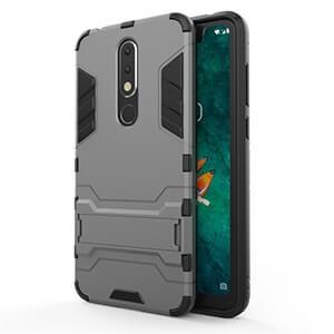 For Nokia X5 Iron Man Armor Protection Phone Case for Nokia X5 Phone Drop Protection Case 4 min
