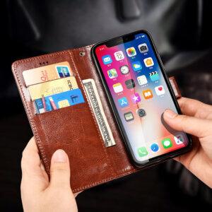 Vivo V11 Flip Leather Wallet Cover4