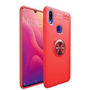 Vivo V11 Soft Case iRing Invisible red