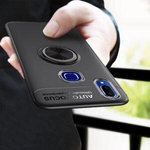 case For Vivo V11i Case Car Holder Stand Magnetic 360 Bracket Finger Ring Vivo V11 i 0