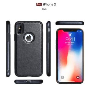 0 Tikitaka Retro Leather Case For iPhoneX XS 6s 7 8 Plus Anti knock Back Cover Soft