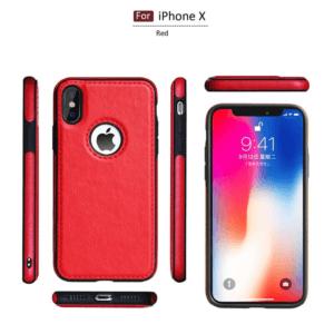 2 Tikitaka Retro Leather Case For iPhoneX XS 6s 7 8 Plus Anti knock Back Cover Soft