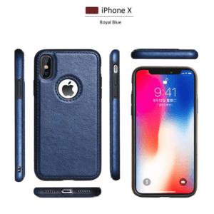 3 Tikitaka Retro Leather Case For iPhoneX XS 6s 7 8 Plus Anti knock Back Cover Soft