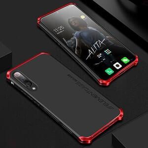 7 Untuk Xiaomi 9 Case Element Solace Shockproof Bingkai Logam Silikon PC Hard Shell Scrub Sederhana Cover min min