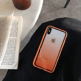 3 Luxury Transparent Gradient Phone Case For iPhone 11 Pro Max 8 7 6 6s Plus X