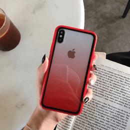 5 Luxury Transparent Gradient Phone Case For iPhone 11 Pro Max 8 7 6 6s Plus X