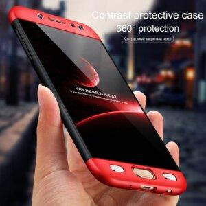 0 360 Degree Full Protection Cases For Samsung Galaxy J7 J5 J3 2017 J2 J4 J6 A6 1