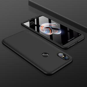 0 Accessories Case For Xiaomi Redmi Note 5 Case 3 In 1 Phone Housing Hard PC 360