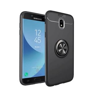 0 For Samsung Galaxy J3 J5 J7 2017 Pro Case With finger ring Magnetism Holder Phone Back
