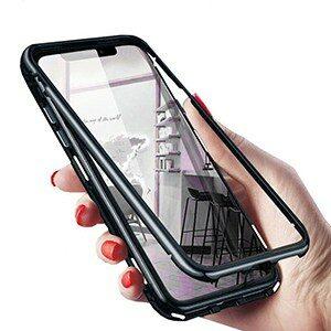 0 Original for xiaomi cc9 case Magnetic Adsorption Metal Case for xiaomi 8 9 8 9 se