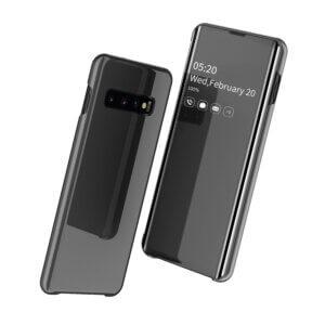 0 Smart Clear View Flip Case for Samsung A30 A50 A70 2019 S10 S9 S8 Plus S10e
