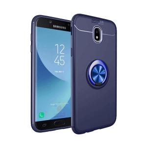 1 For Samsung Galaxy J3 J5 J7 2017 Pro Case With finger ring Magnetism Holder Phone Back