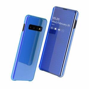 1 Smart Clear View Flip Case for Samsung A30 A50 A70 2019 S10 S9 S8 Plus S10e