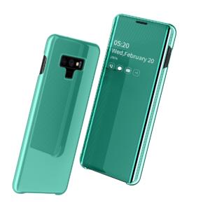 2 Fashion Clear View Mirror Flip Leather Case For Samsung S7 S8 plus S9 plus S10 plus