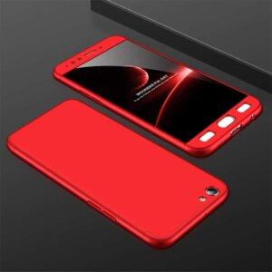 3 360 Full Protection Case For Oppo F3 Slim Hard PC Plastic 3 In 1 Back Cover