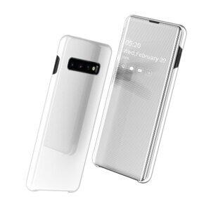 4 Smart Clear View Flip Case for Samsung A30 A50 A70 2019 S10 S9 S8 Plus S10e