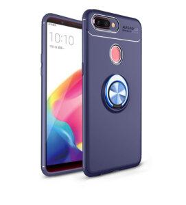 5 OPPO A5S Case For OPPO AX5S Metal Finger Ring Holder Soft TPU Case For OPPO Realme 1