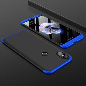 6 Accessories Case For Xiaomi Redmi Note 5 Case 3 In 1 Phone Housing Hard PC 360