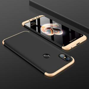 8 Accessories Case For Xiaomi Redmi Note 5 Case 3 In 1 Phone Housing Hard PC 360