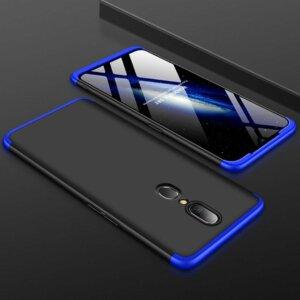 OPPO F11 Hardcase 360 Protection Black Blue