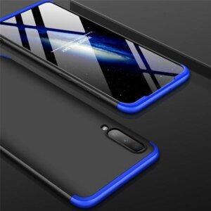 Samsung Galaxy A50 Hardcase 360 Protection Black Blue