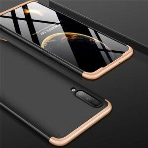 Samsung Galaxy A50 Hardcase 360 Protection Black Gold