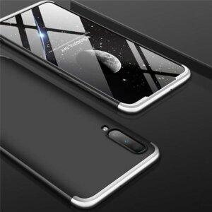 Samsung Galaxy A50 Hardcase 360 Protection Black Silver