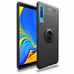 Samsung Galaxy A7 2018 Iring Invisible Softcase Black