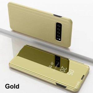 Smart Mirror Flip Case For Samsung Galaxy S10 S8 S9 Plus S7 S6 Edge Leather Case 2 min