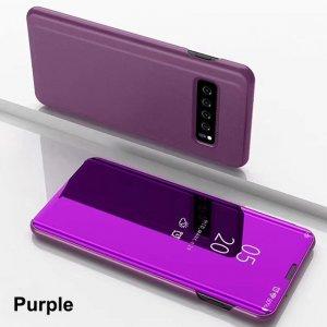 Smart Mirror Flip Case For Samsung Galaxy S10 S8 S9 Plus S7 S6 Edge Leather Case 4 min