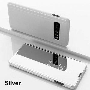 Smart Mirror Flip Case For Samsung Galaxy S10 S8 S9 Plus S7 S6 Edge Leather Case 5 min