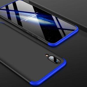 VIVO V11 V11 Pro Hardcase 360 Protection Black Blue