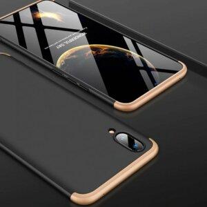 VIVO V11 V11 Pro Hardcase 360 Protection Black Gold