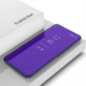 Vivo V15 V15 Pro Clear View Standing Cover Case Purple