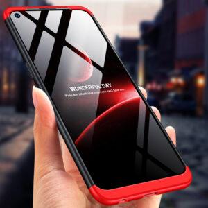 0 360 Full protection Case For VIVO Z5X Z1 Pro Phone Cover 3 IN 1 Matte Plastic