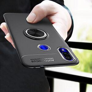 0 For Redmi Note 7 Pro Redmi 7 7A Metal Invisible Ring Bracket TPU Case For Redmi 1 2