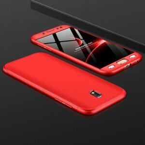 360 Degree Full Protection Case for Samsung J3 J5 J7 Pro 2017 Shockproof Hard Cover forRed 5 300x300 1