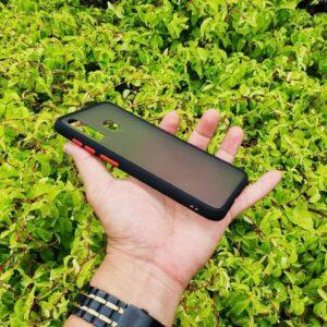 Case Samsung A30 Casing Hybrid Softcase Hardcase Transparan Matte Hitam 2 min