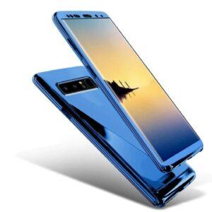 Hardcase Cover Casing 360 Mirror Chrome Slim Blue min 1