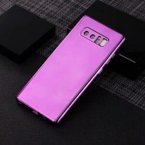 Hardcase Cover Casing 360 Mirror Chrome Slim Purple min