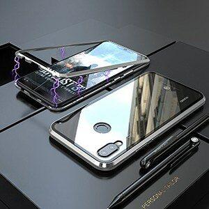 Luxury Magnetic Case For Huawei Nova 3 3i Mate 20 P20 Pro Lite Metal Bumper Glass 4