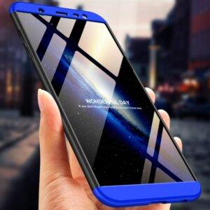 1 Untuk Samsung J8 2018 Case 360 Perlindungan Sepenuhnya Tahan Guncangan Keras Tipis Kembali Menutupi untuk Samsung