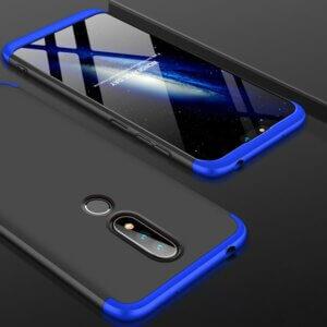 2 GKK Original Case for Nokia X6 2018 6 1 Plus Case 3 in 1 Design 360
