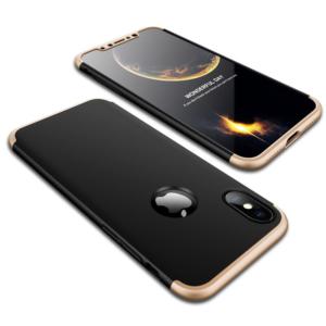 2 GKK Original Case for iPhone X 10 Case 360 Degree Full Protection Hard PC 3 in 1