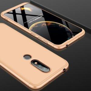 4 GKK Original Case for Nokia X6 2018 6 1 Plus Case 3 in 1 Design 360